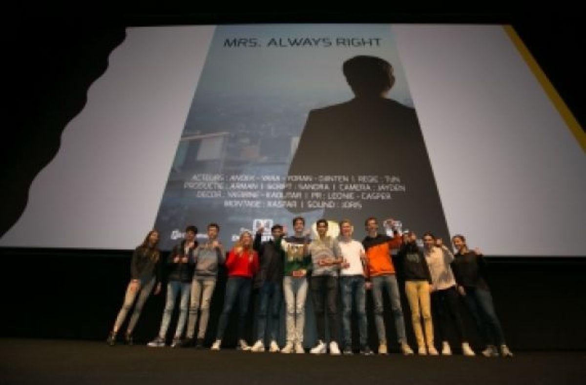 Uitreiking LRC-filmprijzen in Cinemec