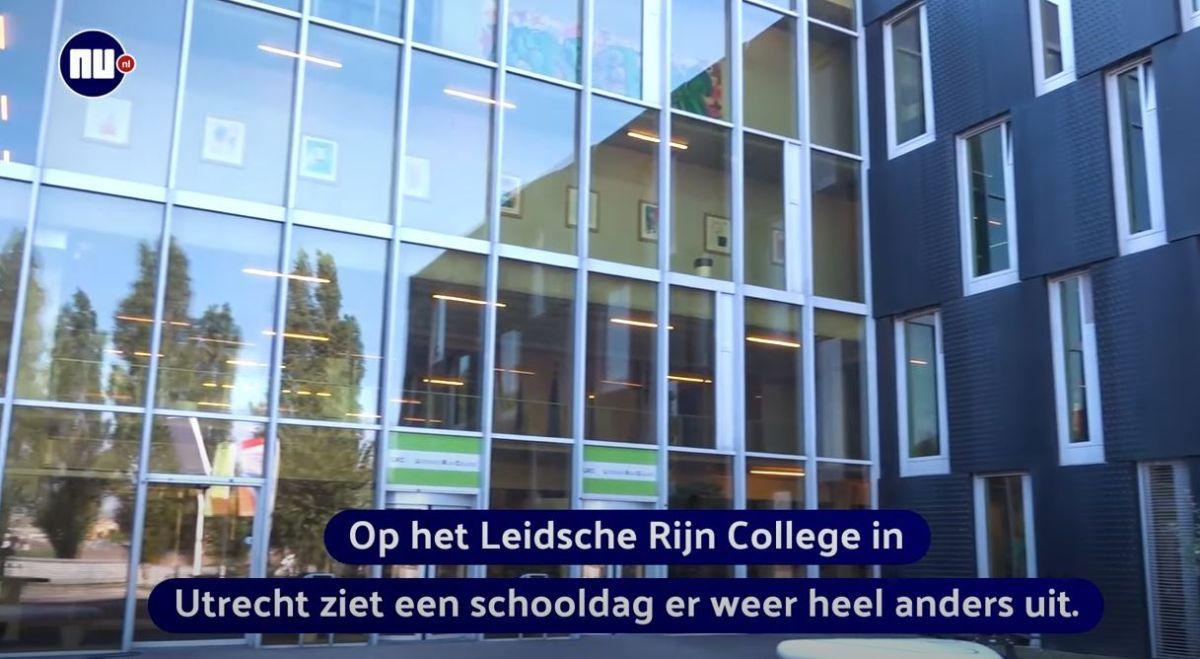 Video NU.nl: Zo gaat het LRC om met coronamaatregelen