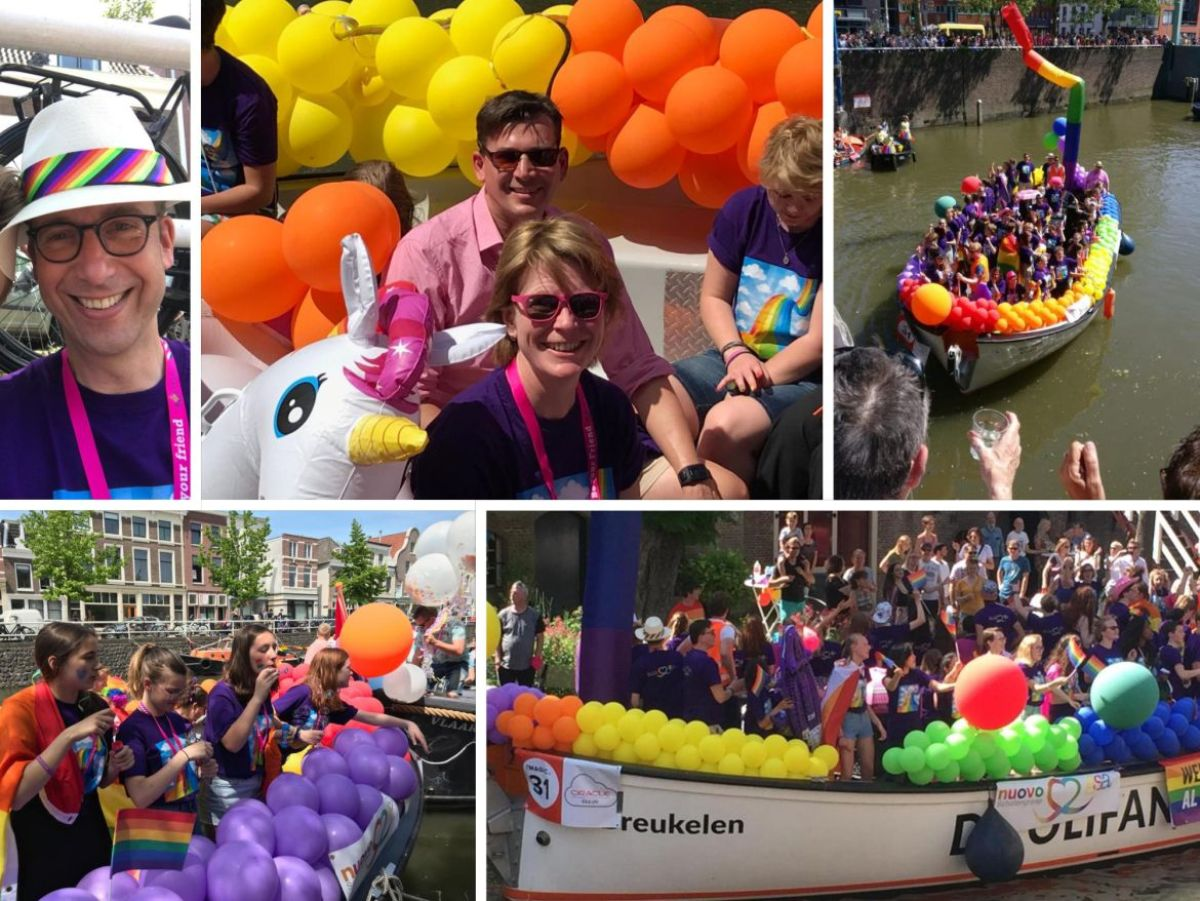 Ook dit jaar waren we er weer bij! De Canal Pride!