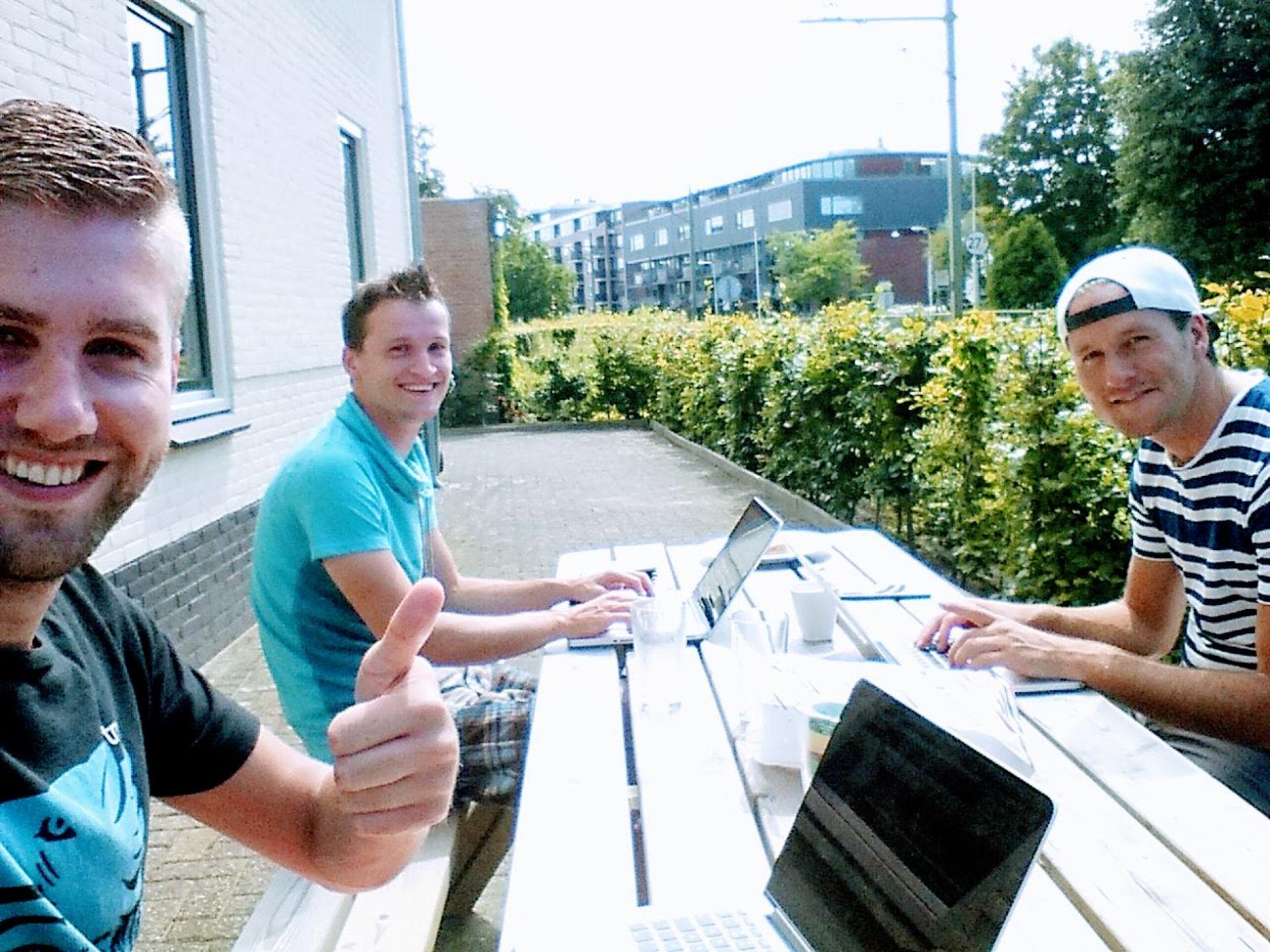 Start ontwikkeling platform