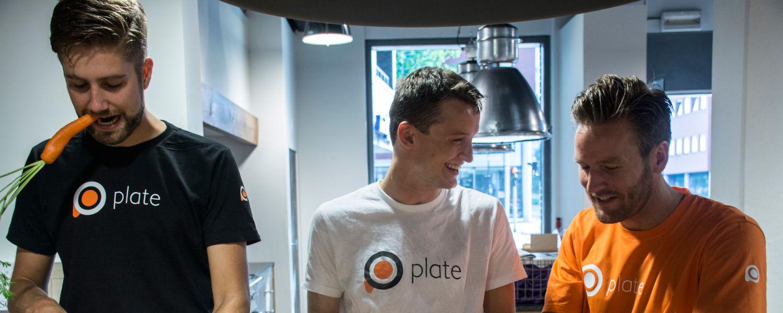 Smakelijke fotoshoot Plate founders