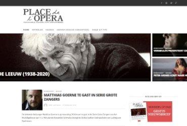 Nieuw design voor Place de l'Opera