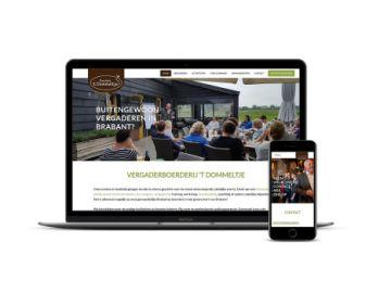 19ca52d364c Nieuwe zakelijke website voor Boerderij 't Dommeltje