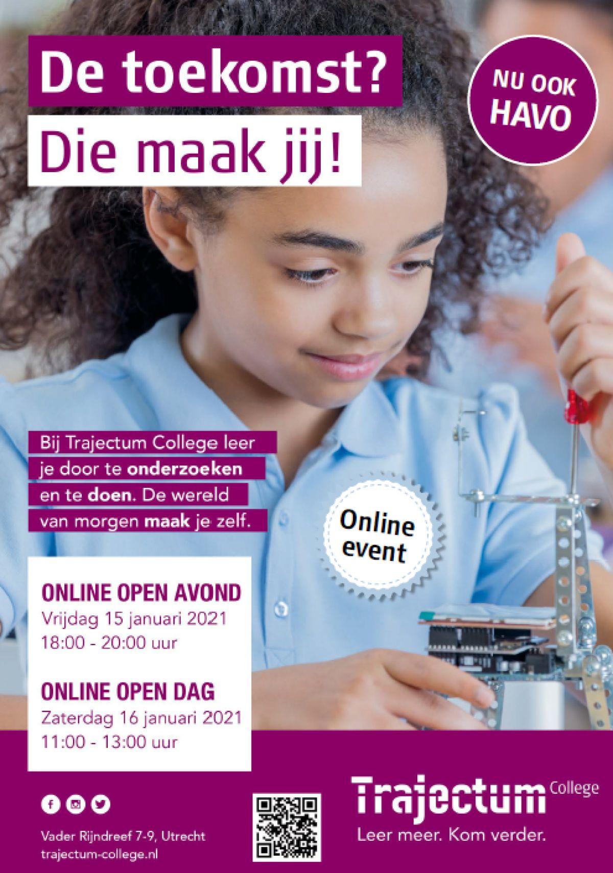 Online open dagen