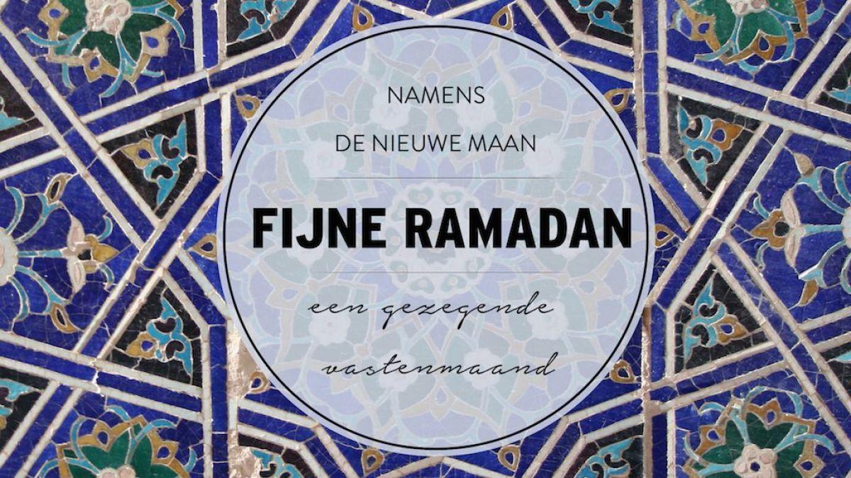 Ramadan 2020: op afstand, maar ook samen