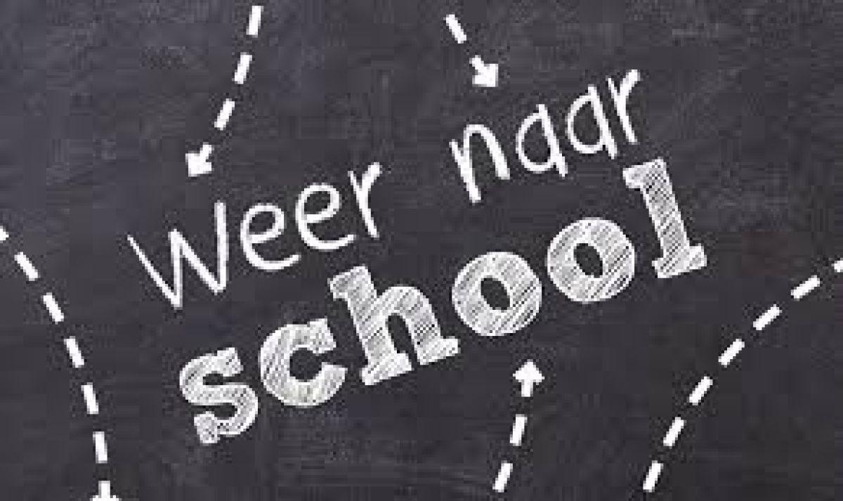 We gaan dinsdag 2 juni weer naar school!