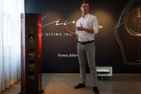 Verslag Door Alpha-audio Van Sonus Faber Lilium Show!