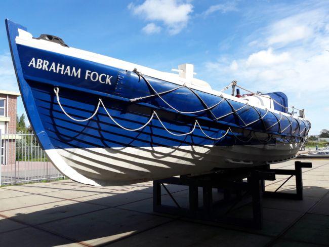 Nieuwe reddingboot voor de vloot