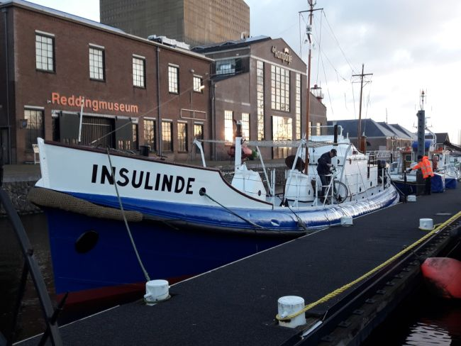 Reddingboot Insulinde is vaarklaar