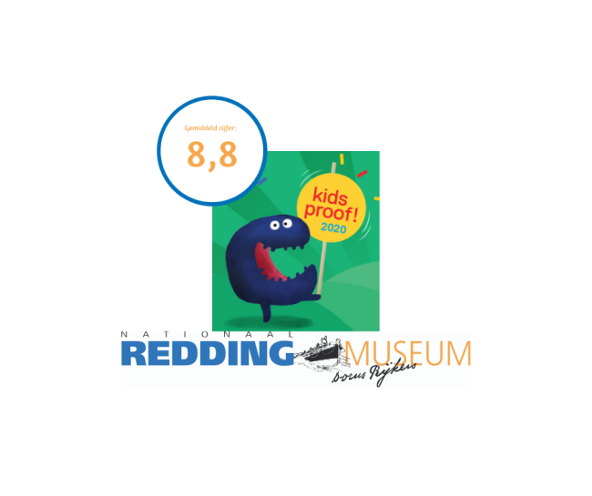 Reddingmuseum ook in 2020 Kidsproof!