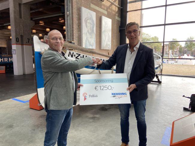 Zorggroep Tellus sponsort Reddingmuseum