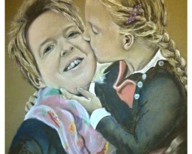 Afbeelding van Hannah en mama