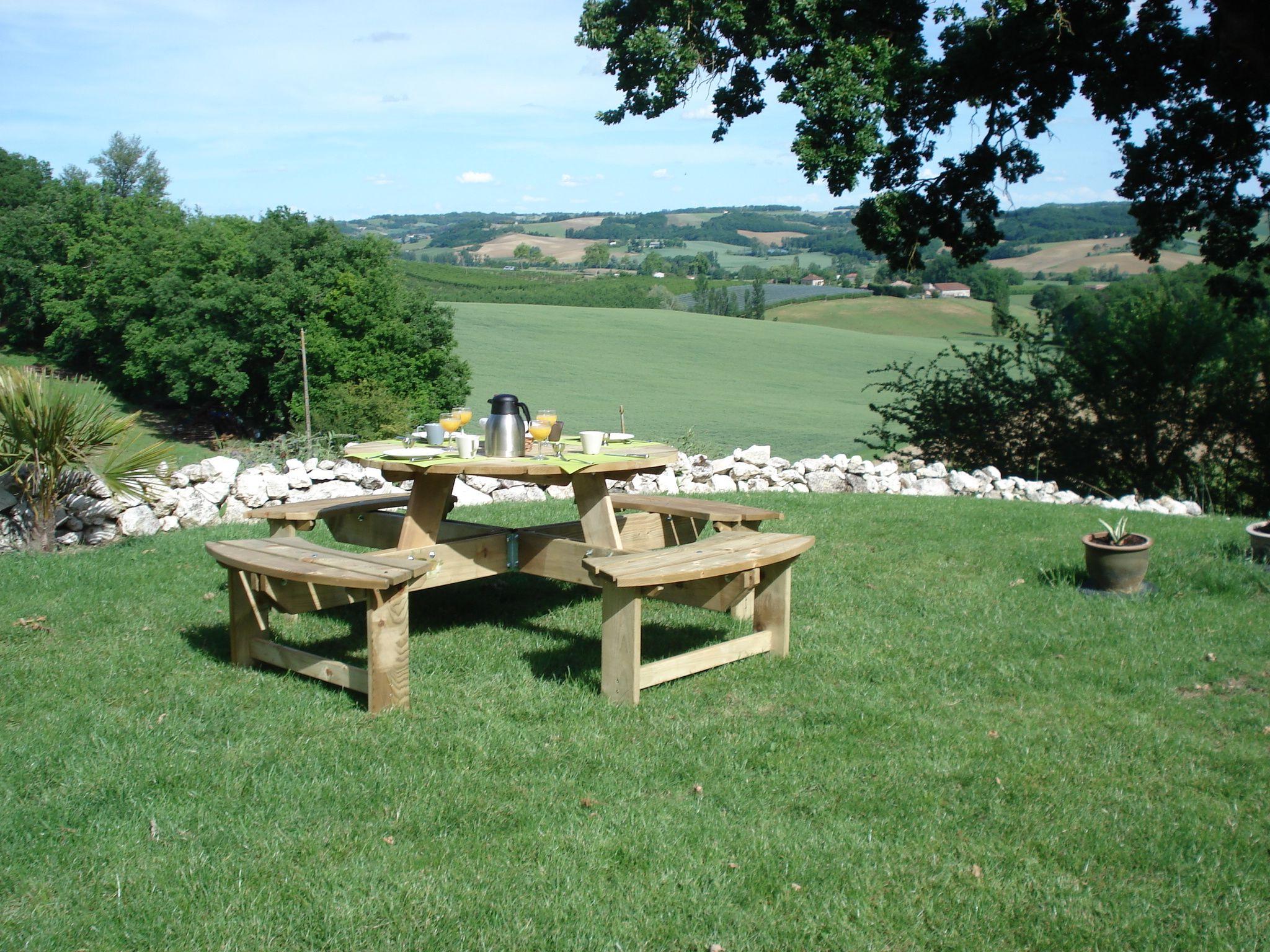 Picknicktafel Tuin Maison Lous Rouquets