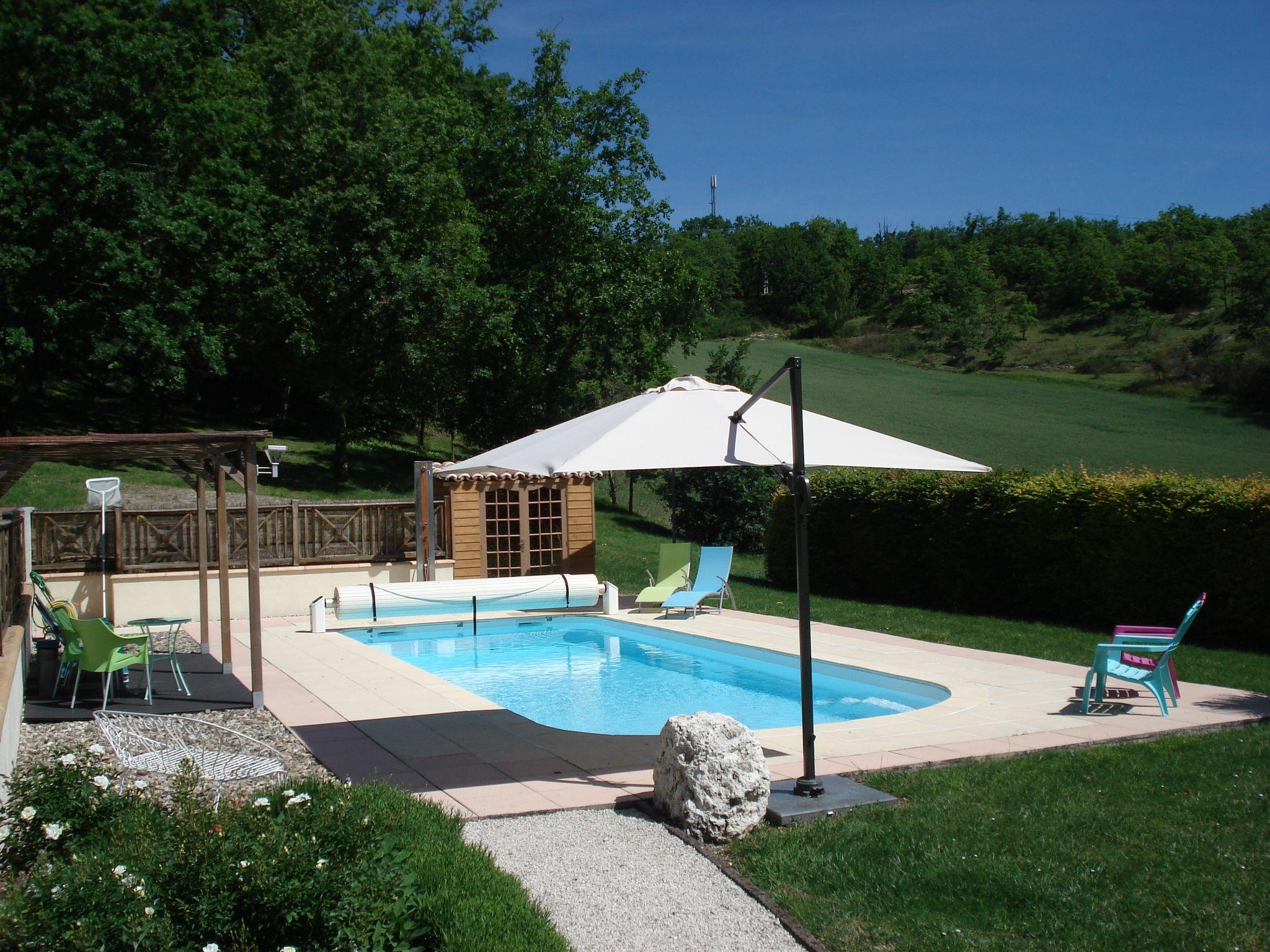 Zwembad Maison Lous Rouquets