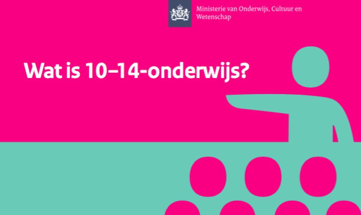 Wat is 10-14-onderwijs?