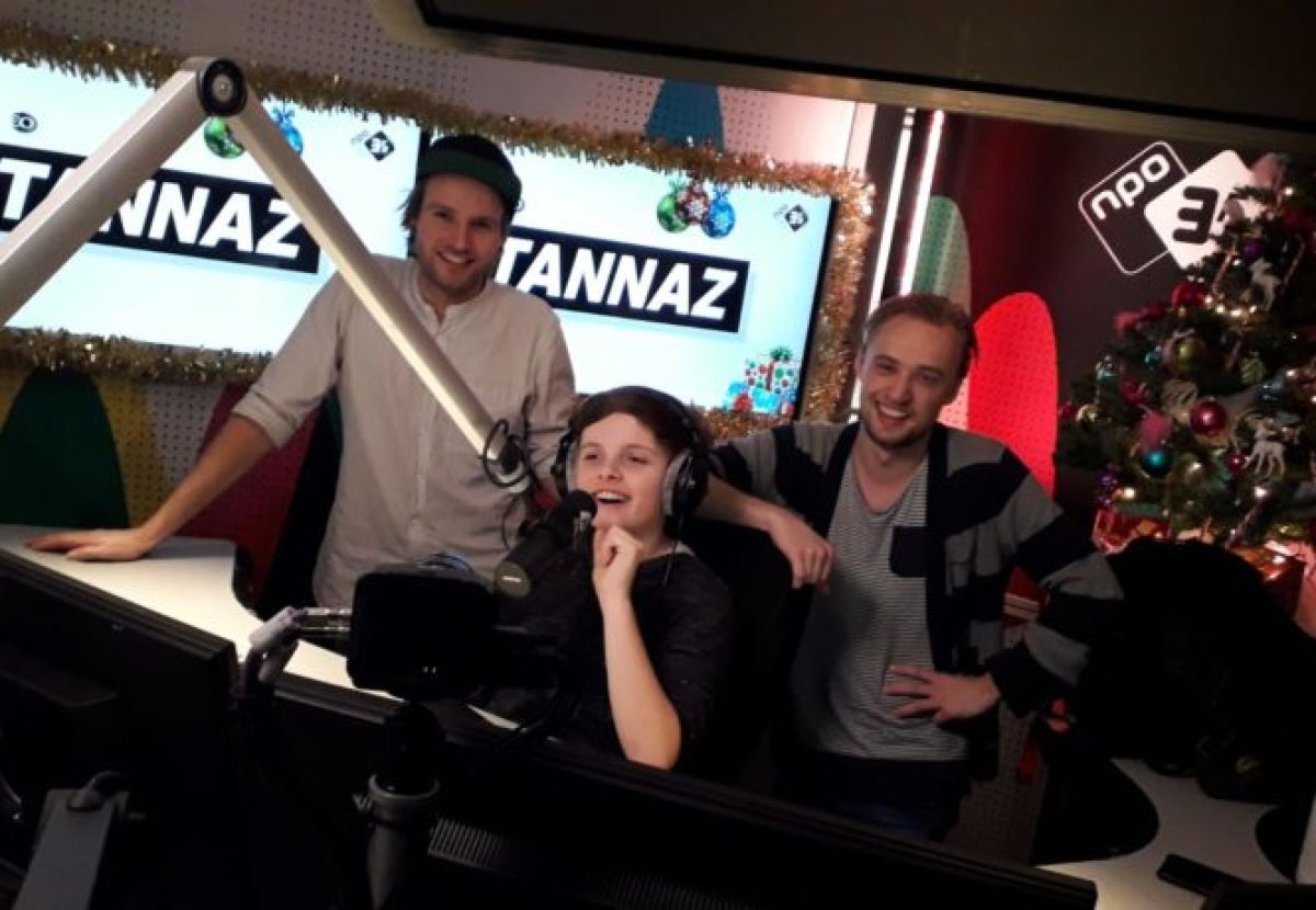 Ik was sidekick bij 3FM