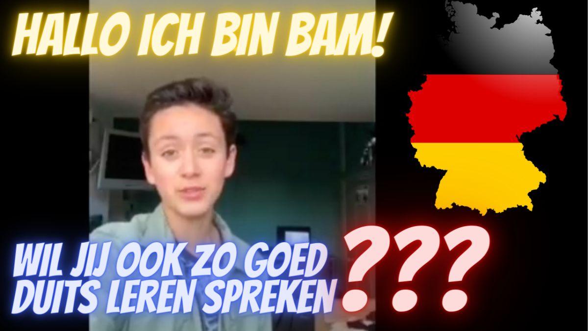 Duits met Bam op Mavo Doorn