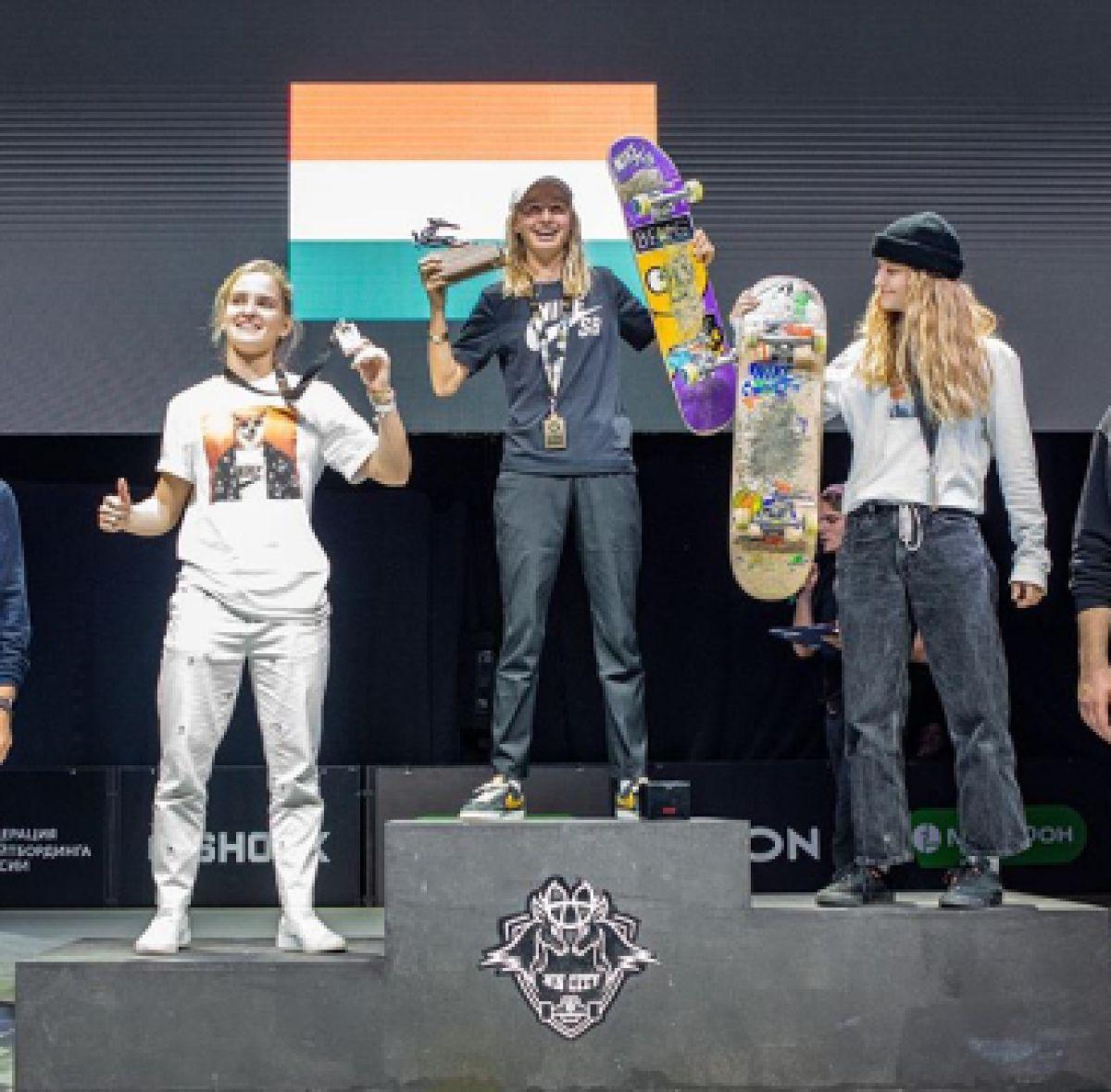 SkateKeet (15) wint goud op EK in Rusland!