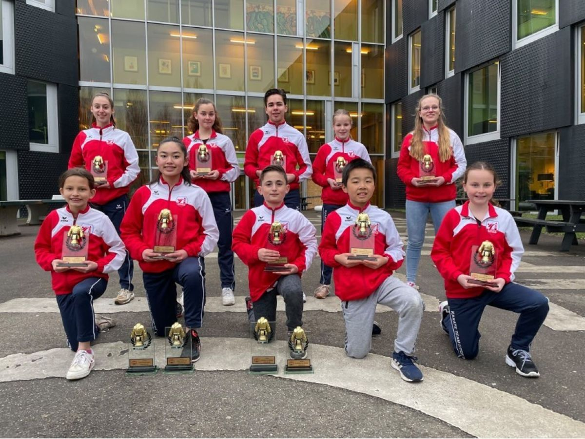 Leerlingen winnen bij NK Karate