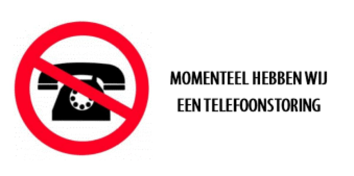 Telefonisch niet bereikbaar