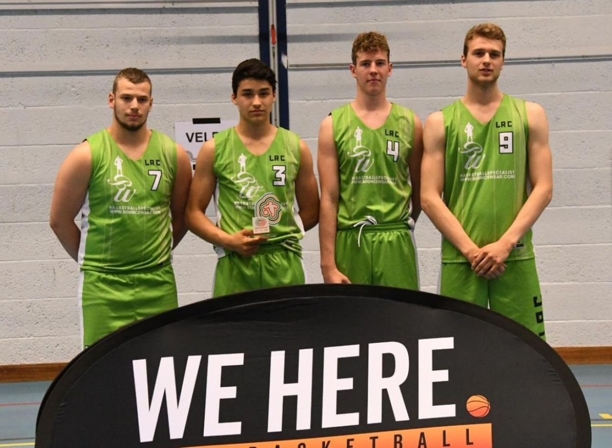 Goud voor LRC basketballers!