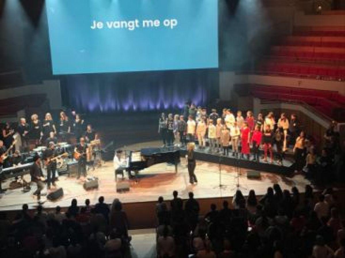 Samen zingen in Tivoli Vredenburg