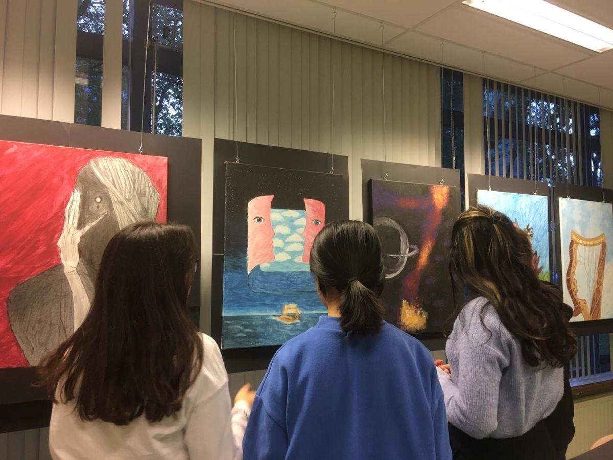 Online tentoonstelling schilderclub