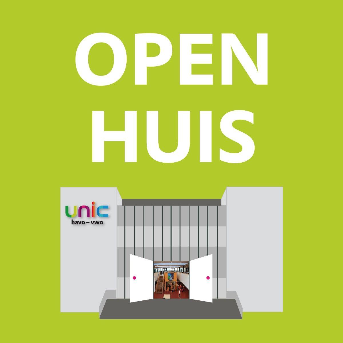 Open huis en Open lesmiddagen