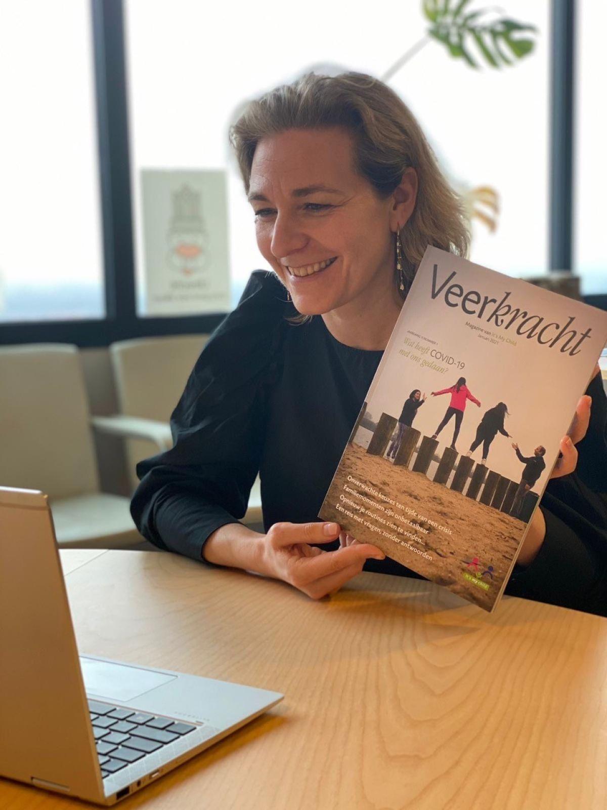 Veerkracht Magazine over ouderbetrokkenheid