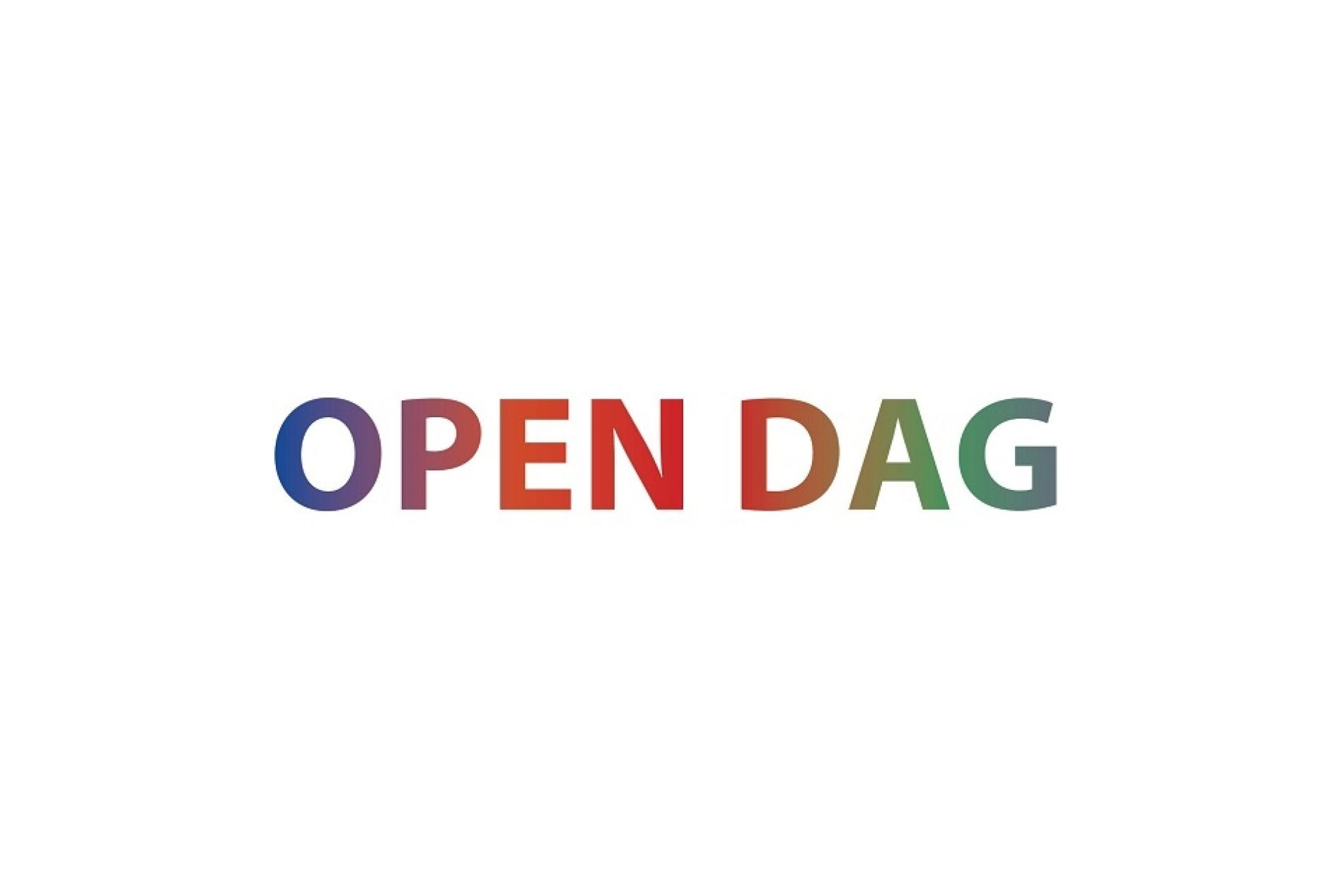Open dagen 2020!
