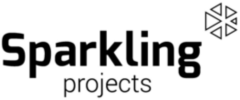 logo sparkling projects bw
