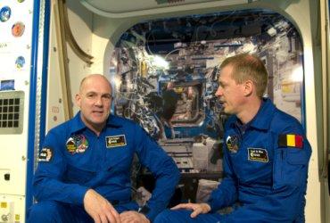 André Kuipers en Frank De Winne - ESA