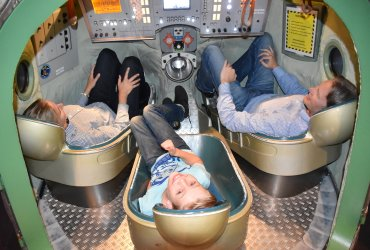 Cas en ouders in de soyuz