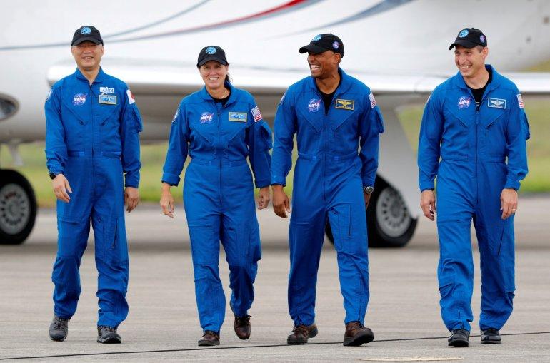 Crew Dragon november 2020
