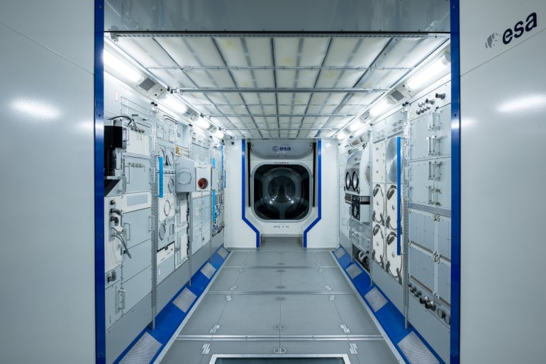 ISS Binnenkant