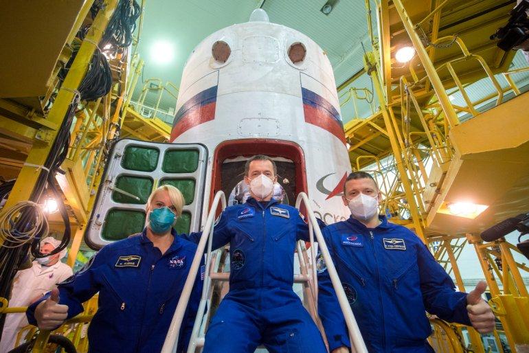 Lancering Exp 63 Soyuz