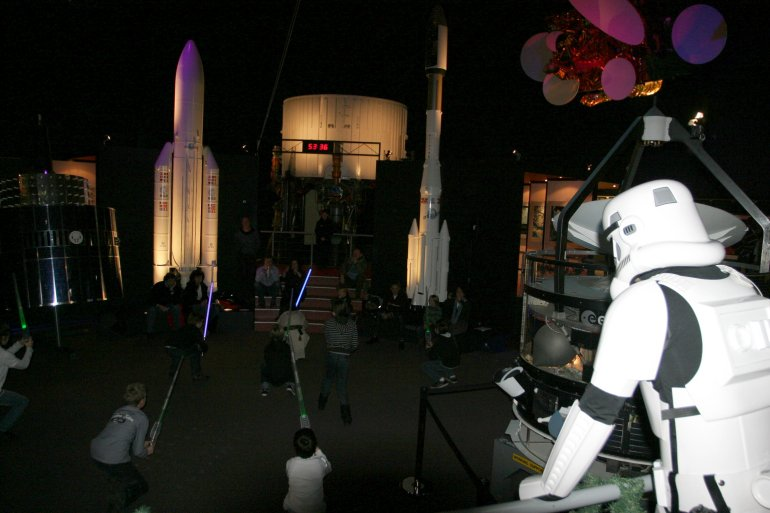 Space Expo StarWars Kerst 2009 160