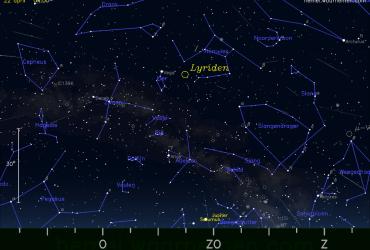 meteorenzwerm Lyriden