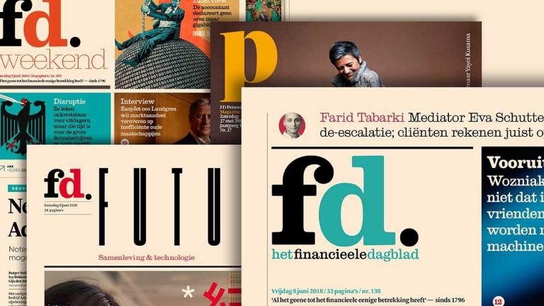 Interview in het Financiële Dagblad: Plate in de media