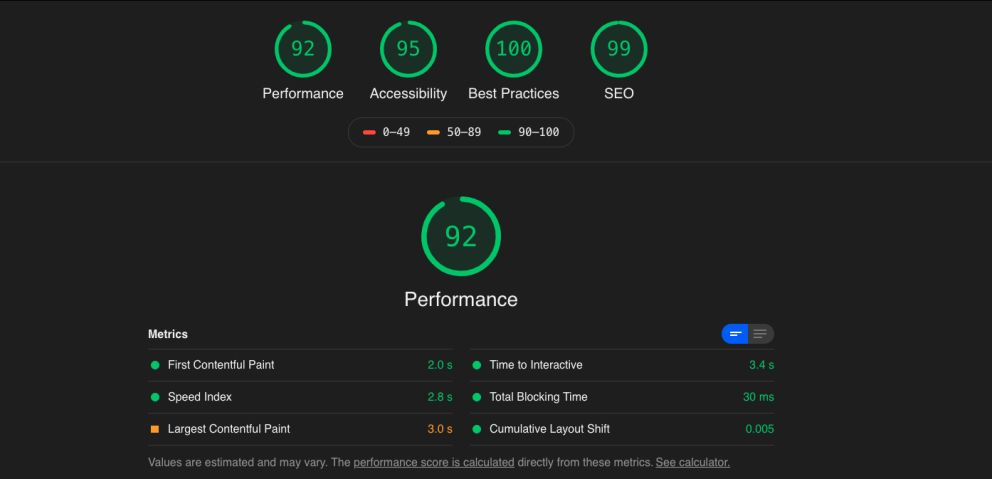 core web vitals pagespeed