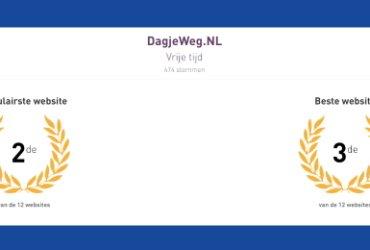 DagjeWeg.NL scoort als vrijetijdswebsite
