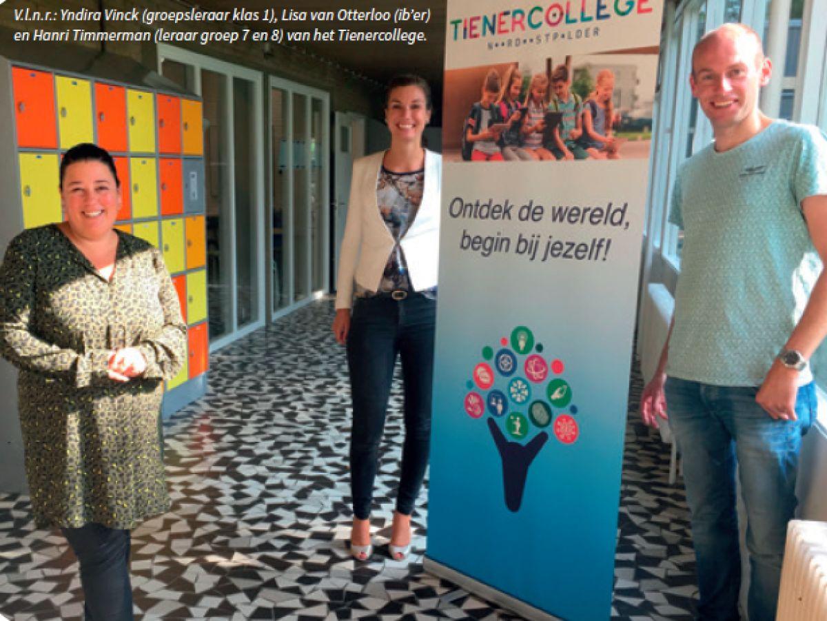 Tienercollege Noordoostpolder: een school voor 10-14-jarigen