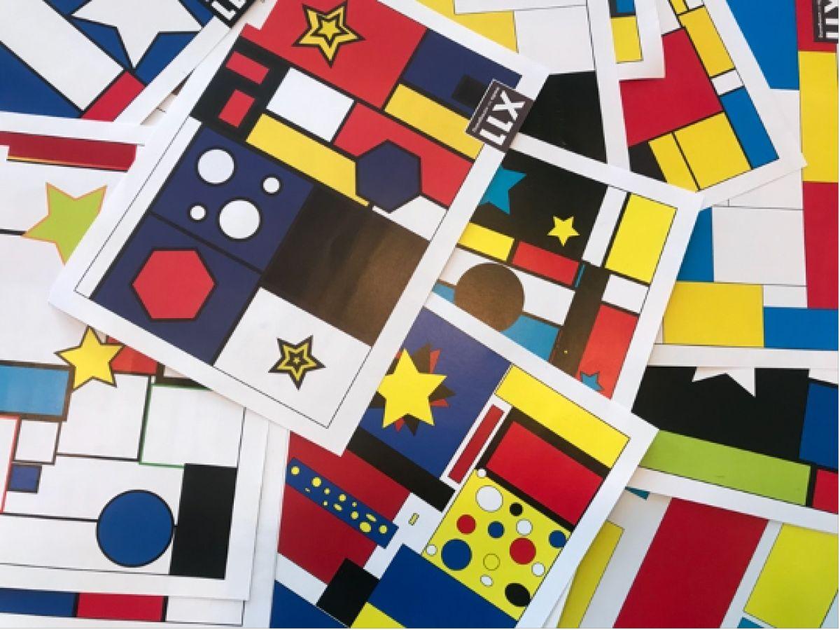 X11-leerlingen verrassen ouderen met honderden kaartjes