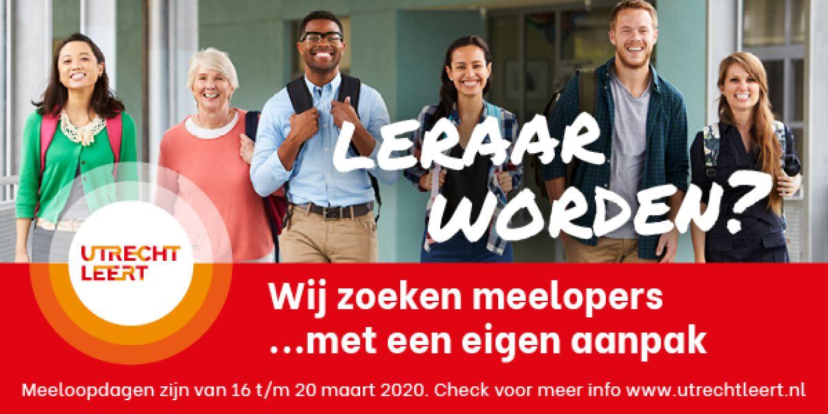 Aanpak van het lerarentekort: campagne Utrecht Leert