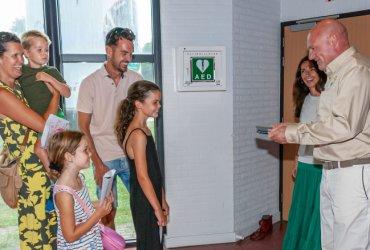 15.000ste bezoeker Missie in het Museum verrast door Andre Kuipers