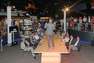 Andre Kuipers vertelt over maanreizen op Space Connect