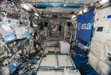 Interieur ISS - ESA