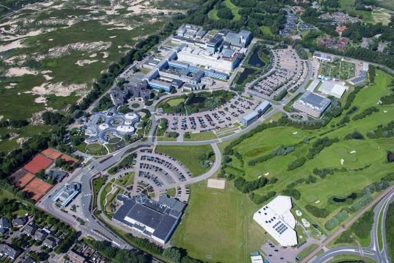 Luchtfoto ESA ESTEC