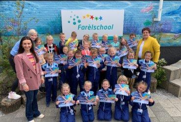 Persfoto Farelschool wint Misison X 2021