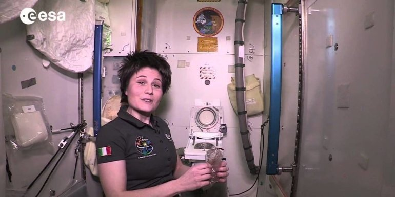 Ruimtetoilet ISS - ESA